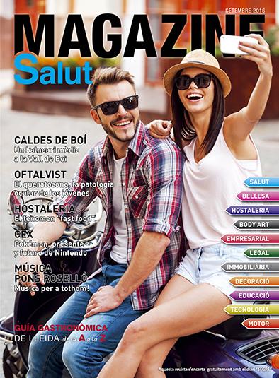 portada de la revista de lleida setembre 2016 Magazine Salut