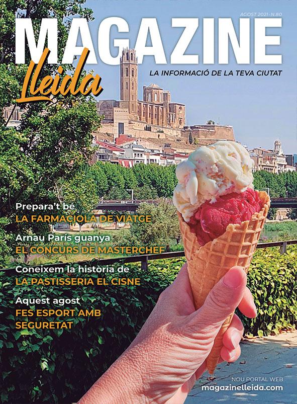 Portad Magazine Lleida Agost